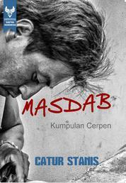 Cover MASDAB (Kumpulan Cerpen) oleh