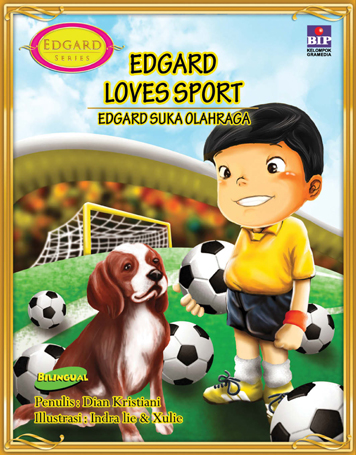 EDGARD LOVES SPORT by Cover