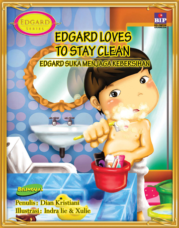 EDGARD LOVES TO STAY CLEAN by Cover