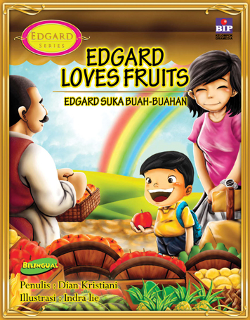 EDGARD LOVES FRUITS by Cover