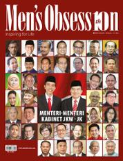 Cover Majalah Men's Obsession ED Khusus / SEP 2014