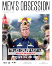 Cover Majalah Men's Obsession ED Tahunan / MAY 2019