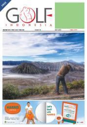 Cover Majalah GOLF INDONESIA / JUL 2014