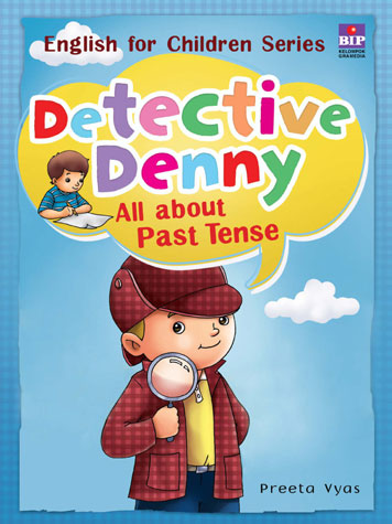 Detective Denny : All about Past Tense by Cover