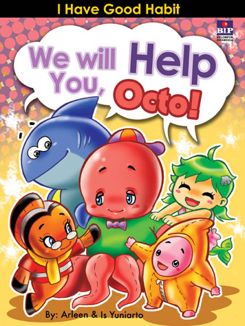 We Will Help You, Octo! by Cover