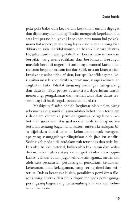 Ebook Dunia Sofie