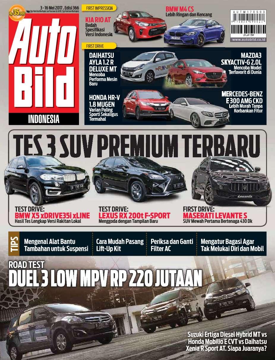 Auto Bild Magazine ED 366 May 2017 - Gramedia Digital