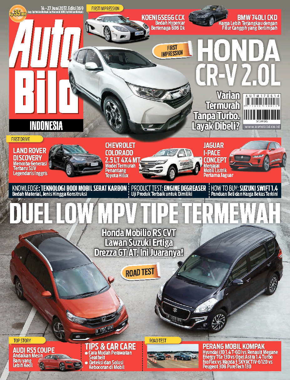 Auto Bild Magazine ED 369 June 2017 - Gramedia Digital