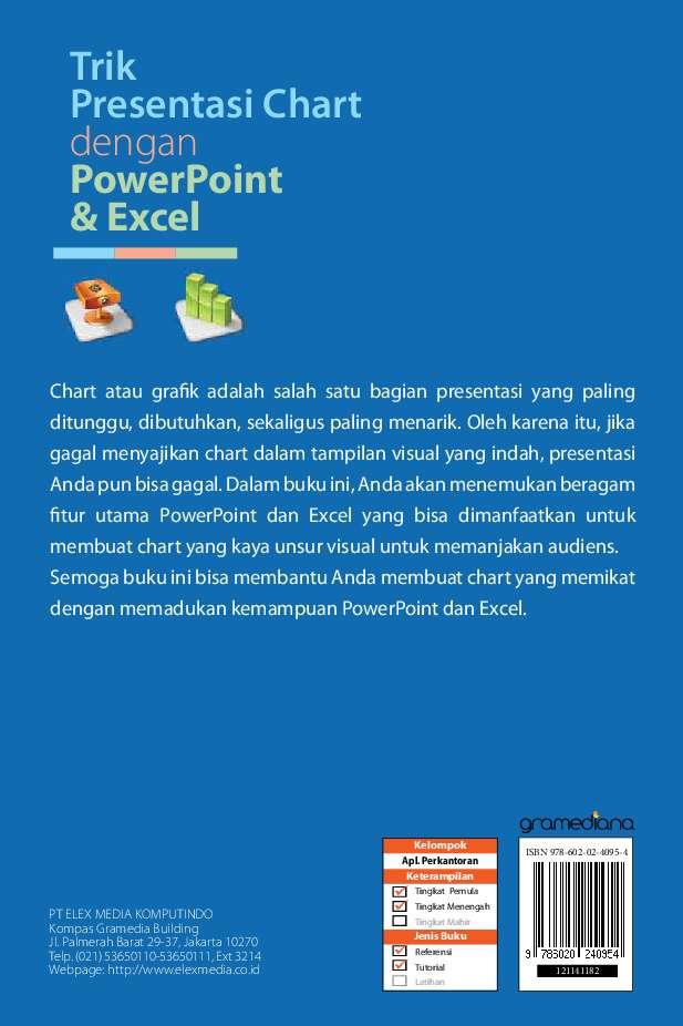 Trik Presentasi Chart Dengan PowerPoint & Excel Book by