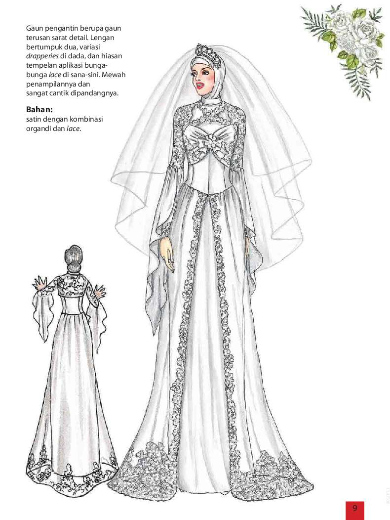 The Art Of Fashion Gaun Pengantin Muslimah Book by Sanny Poespo