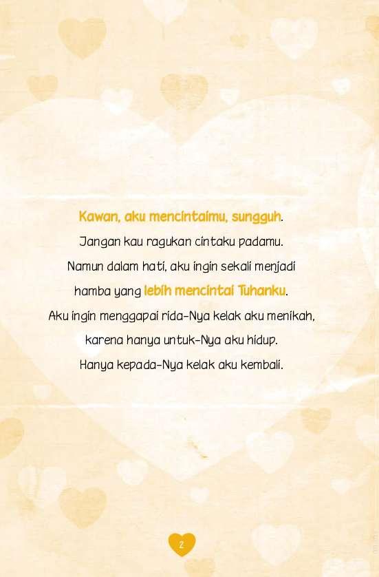Jual Buku Surat Cinta Untuk Kekasih Sejatiku Oleh Ahmad Rifa