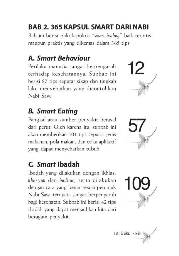 Ebook 365 Tips Sehat Ala Rasulullah