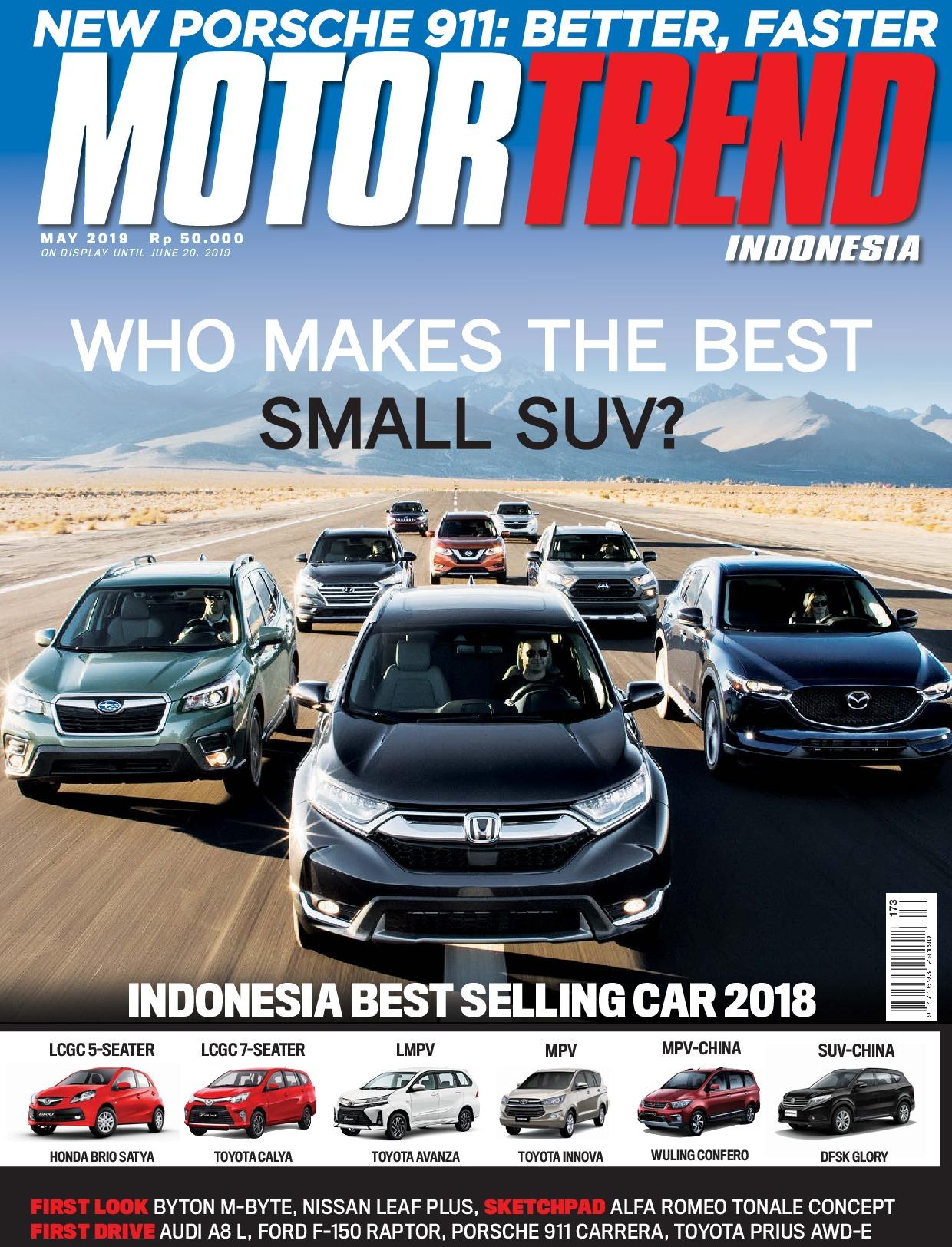 Motor Trend Indonesia Magazine May June 2019 Gramedia Digital