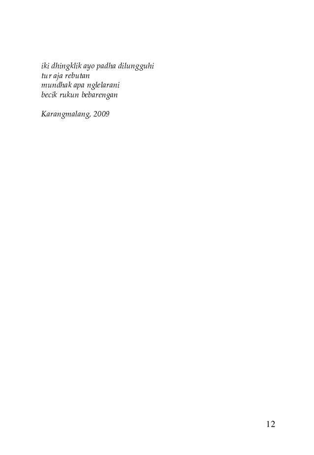 Jual Buku Layange Sinta Marang Rama Kumpulan Geguritan Oleh Sugito