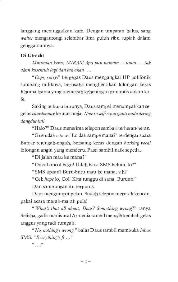 Ebook Novel Negeri Van Oranje