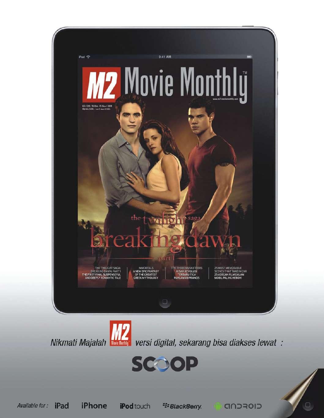 Movie monthly magazine