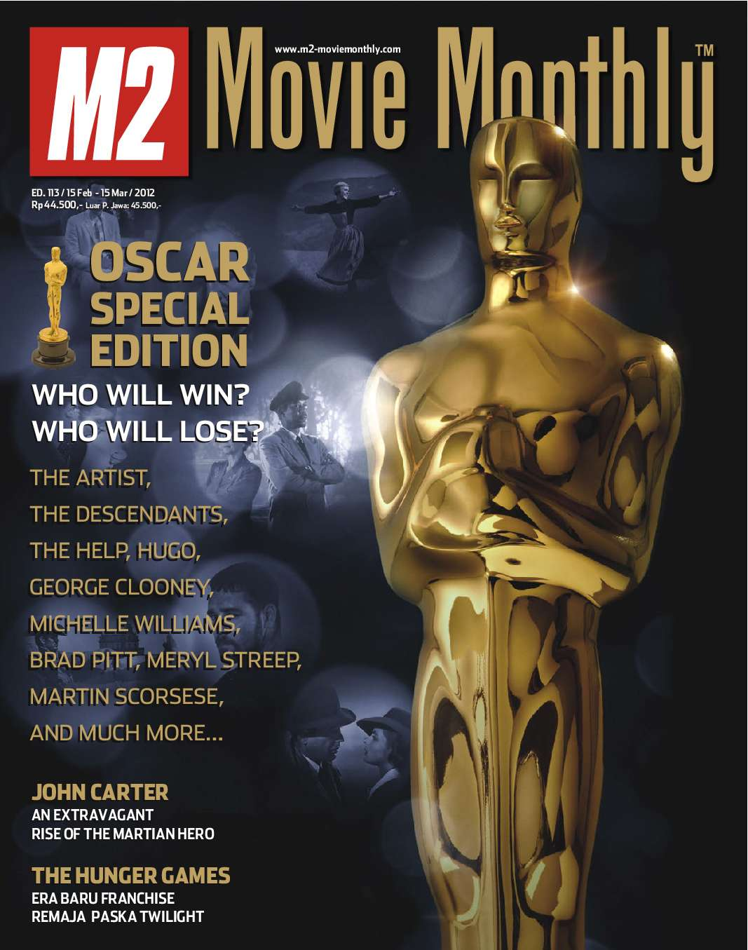 Jual Majalah M2 Movie Monthly Maret 2012 - Gramedia