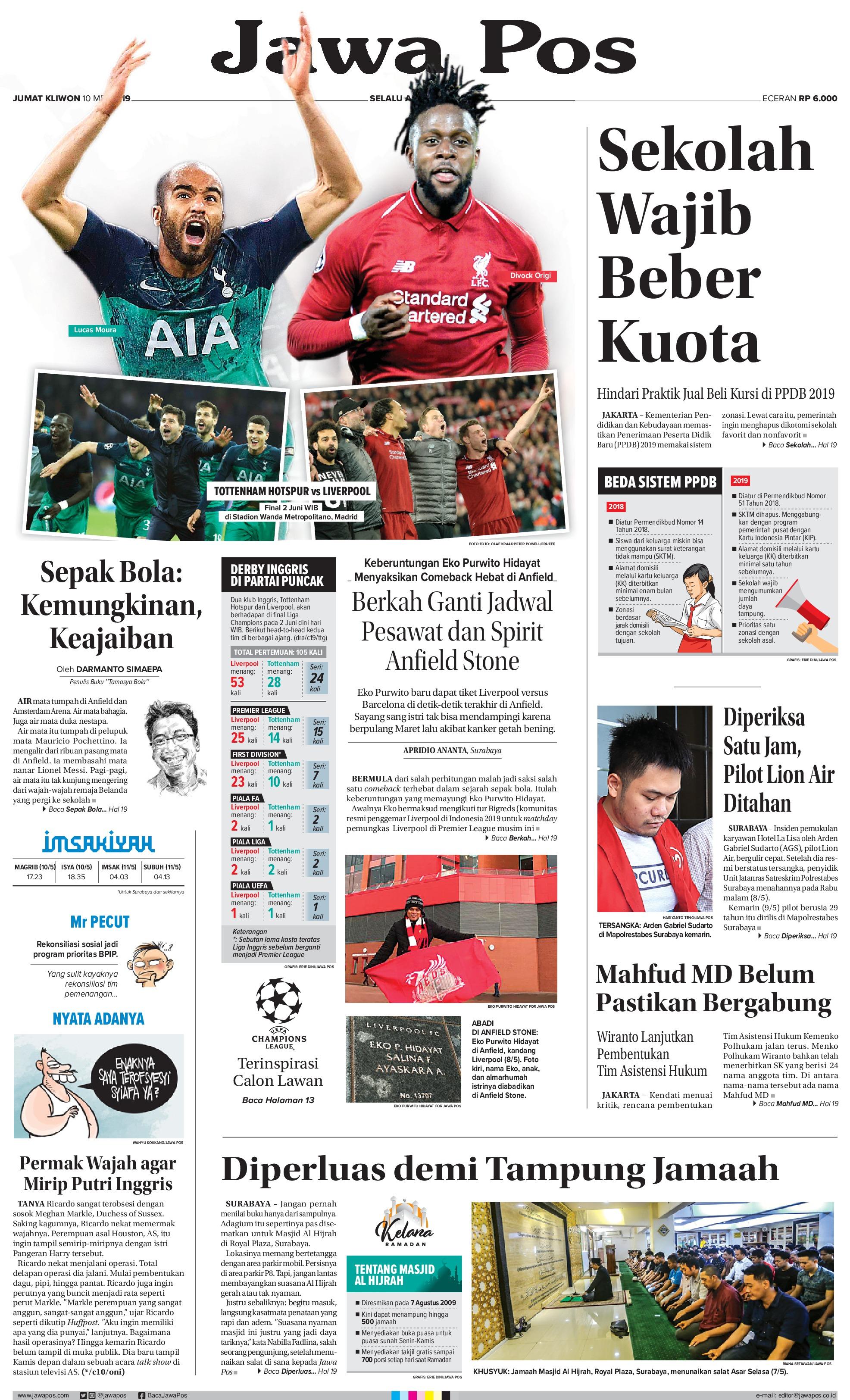 Jual Koran Jawa Pos  Gramedia Digital Indonesia