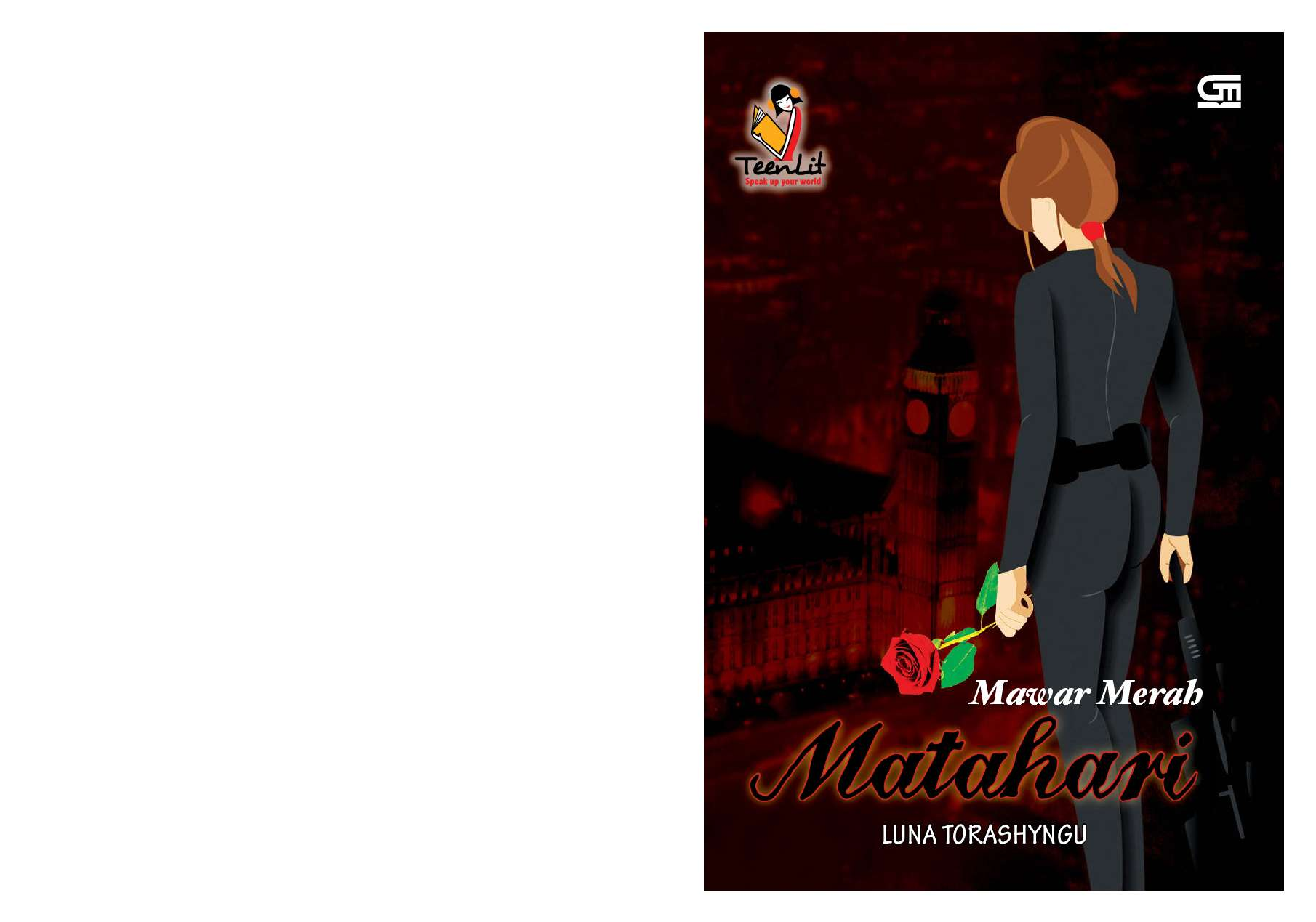 Ebook Novel Mawar Merah Matahari