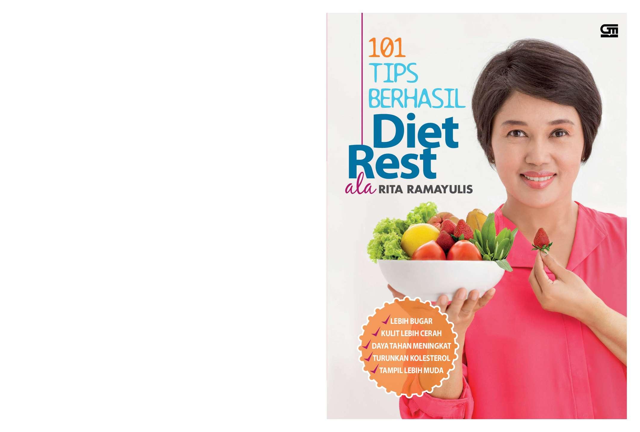 Jual Buku 101 Tips Berhasil Diet Rest Ala Rita Ramayulis ...