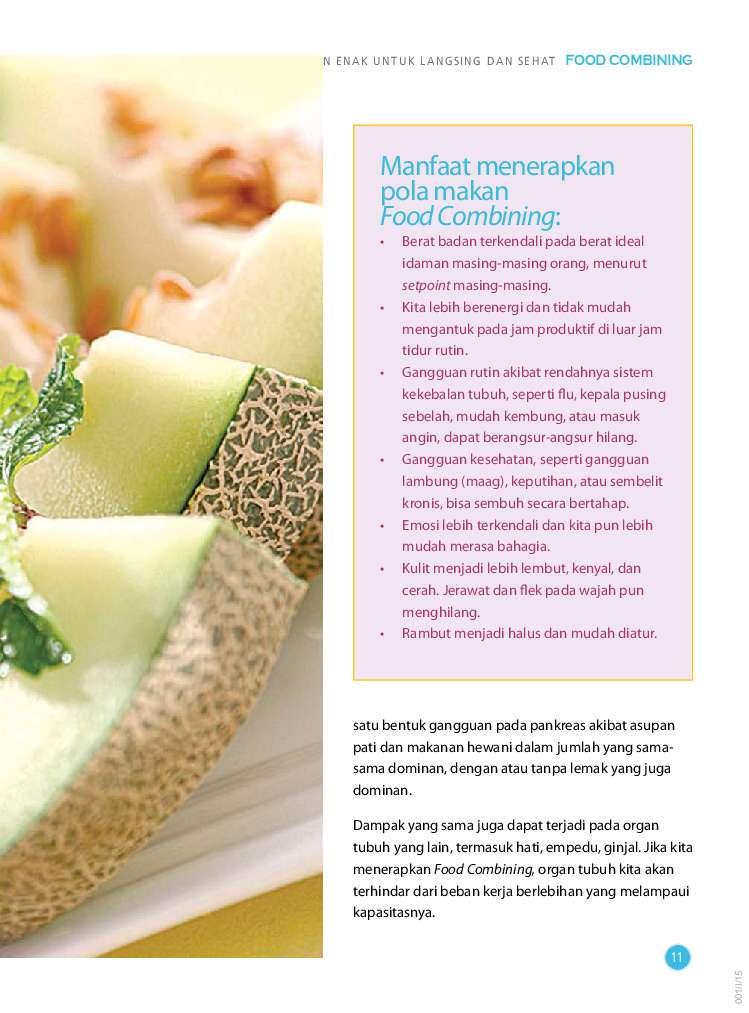 Jual Buku Food Combining: Makanan Enak Untuk Langsing ...