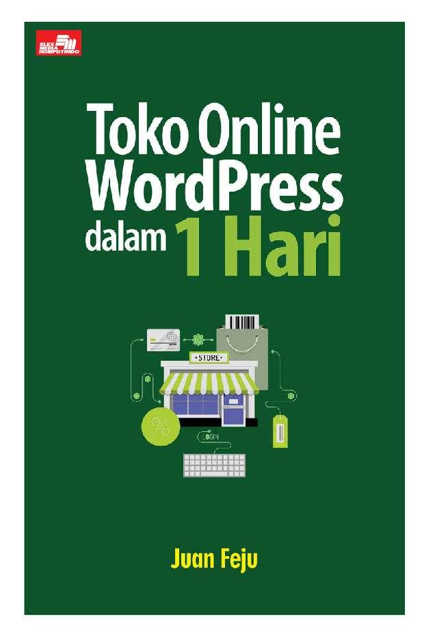 Jual buku toko online wordpress dalam hari oleh juan