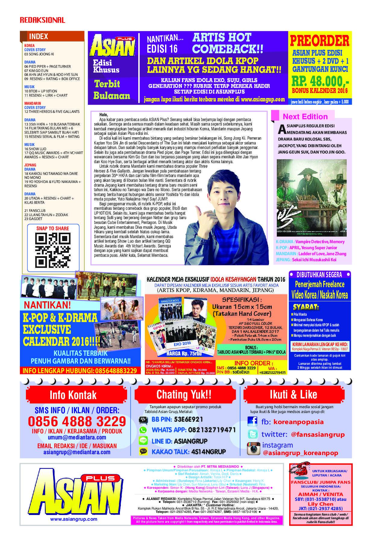 Asianplus Magazine Ed 652 April 2016 Gramedia Digital