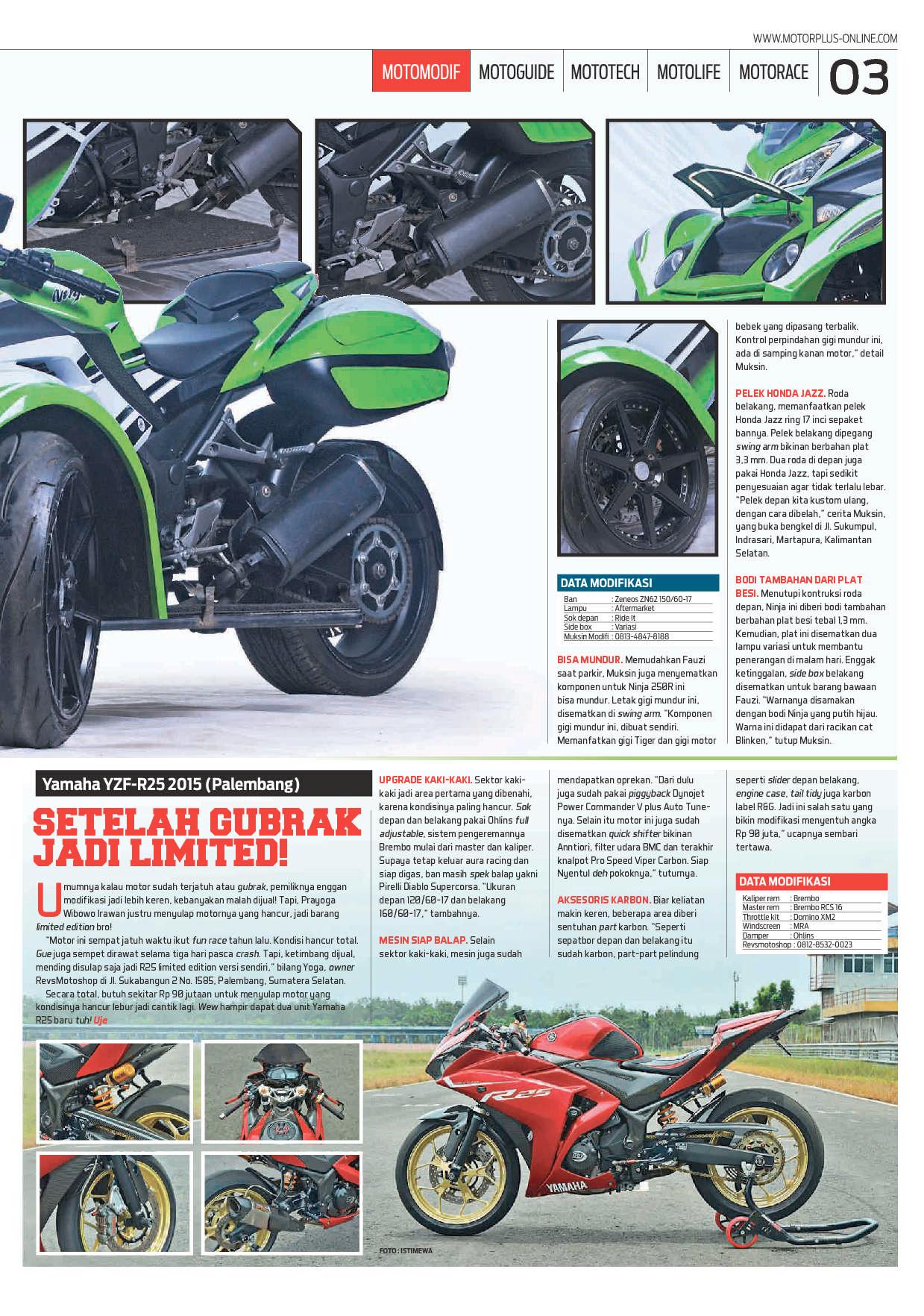 Motor Plus Magazine Ed 966 September 2017 Gramedia Digital