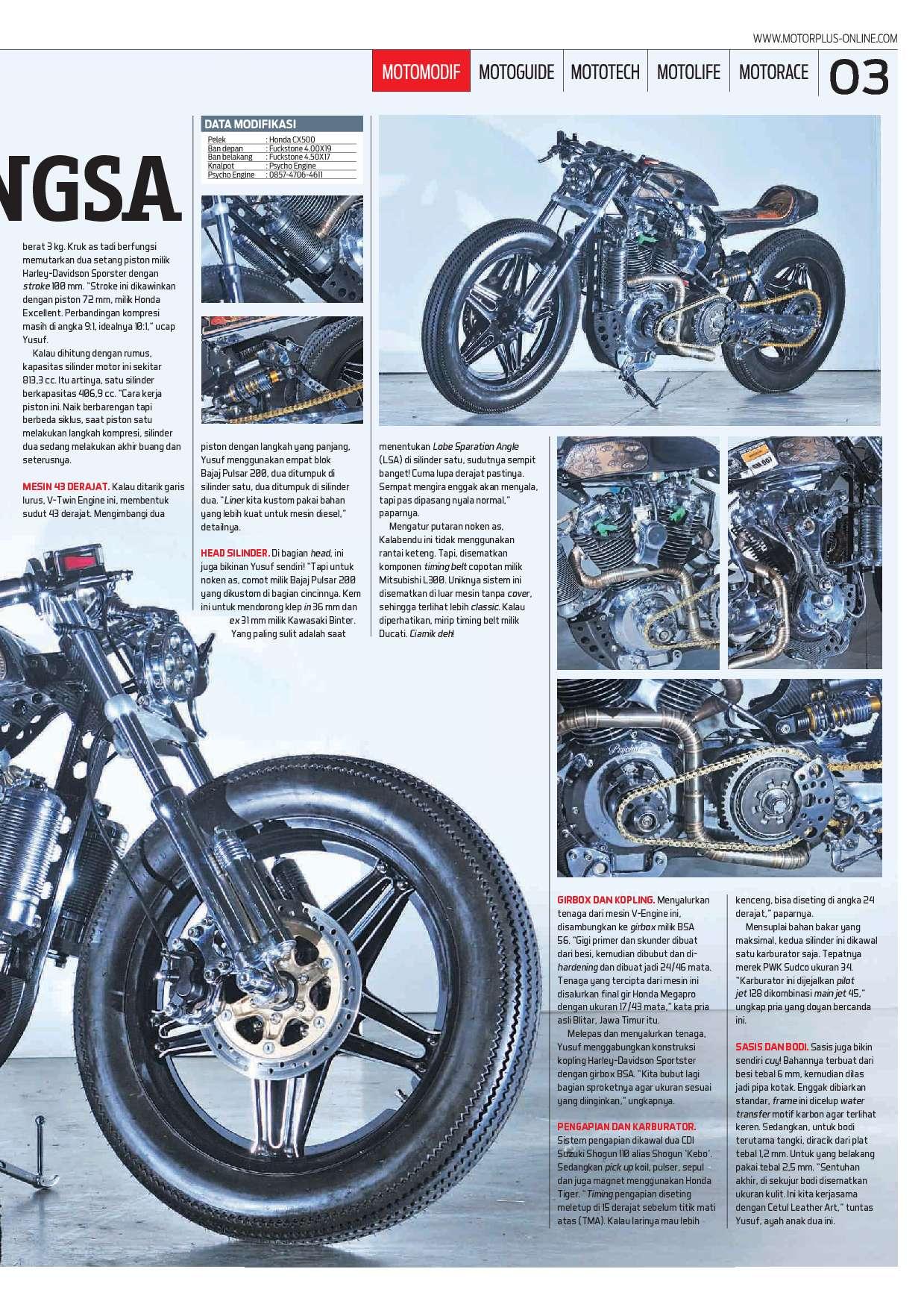 Jual Majalah Motor Plus Ed 971 Oktober 2017 Gramedia Digital Indonesia Noken As Tiger 3