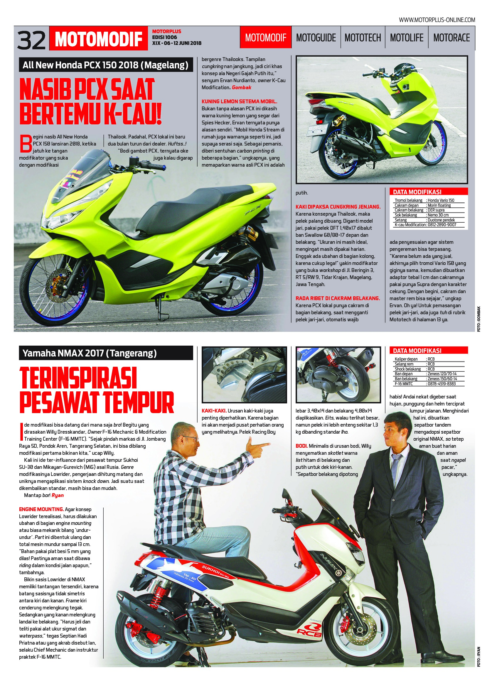 Motor Plus Magazine Ed 1006 June 2018 Gramedia Digital