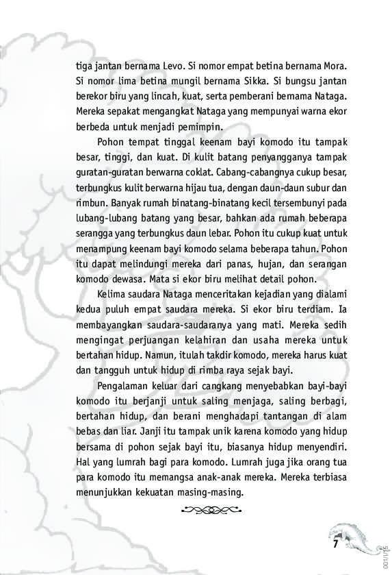 Jual Buku Nataga The Little Dragon Oleh Ugi Agustono Gramedia