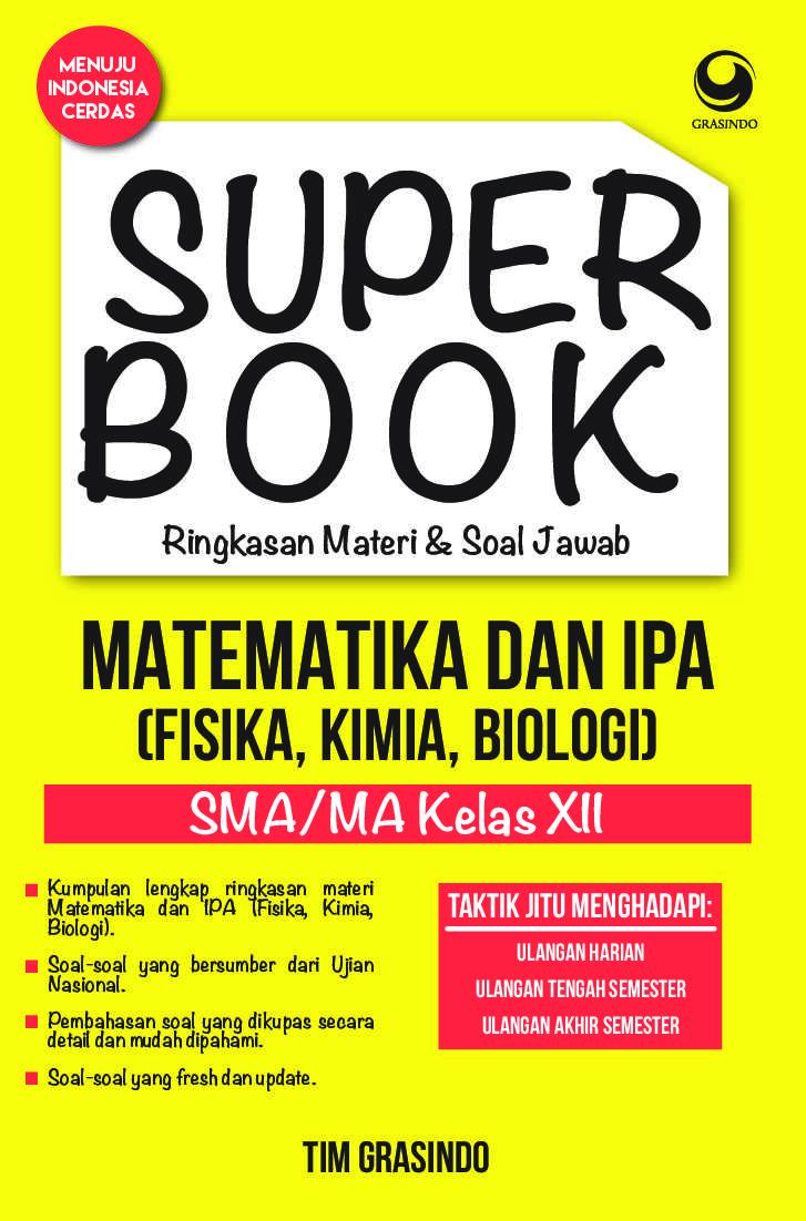 Jual Buku Superbook Ringkasan Materi Amp Soal Jawab
