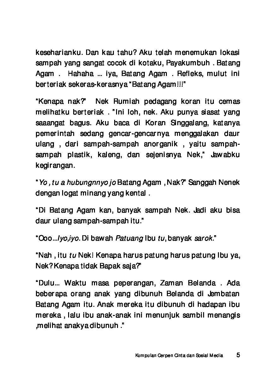 Jual Buku Kumpulan Cerita Pendek Cinta Dan Sosial Media Oleh Nur