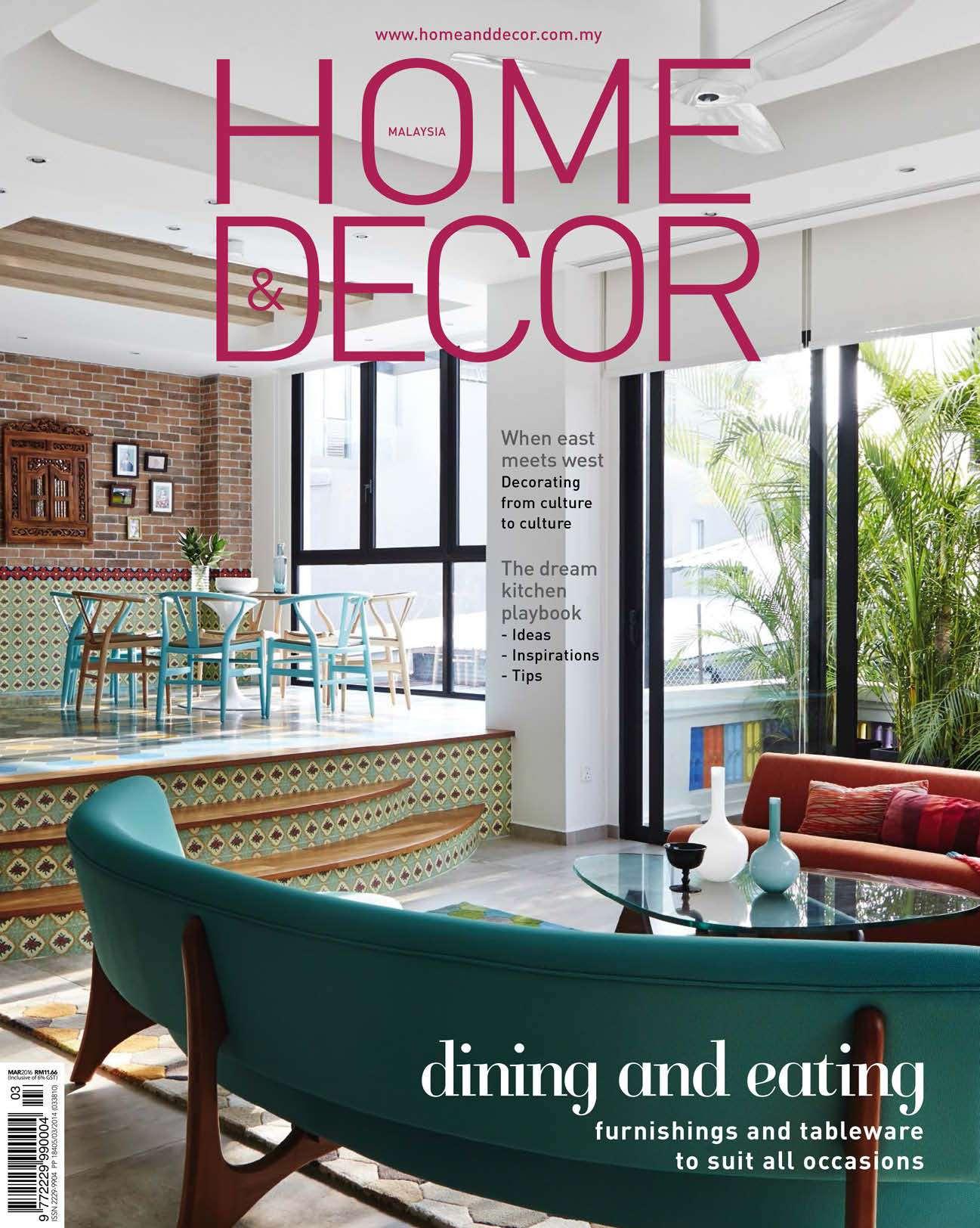 Home Decor Malaysia Magazine March 2016 Gramedia Digital
