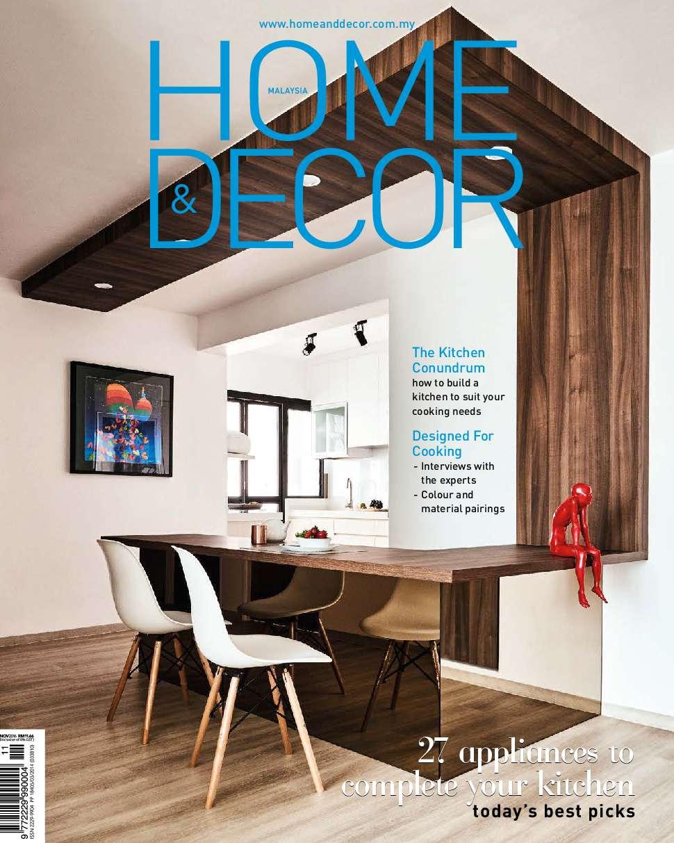 Home Decor Malaysia Magazine November 2016 Gramedia
