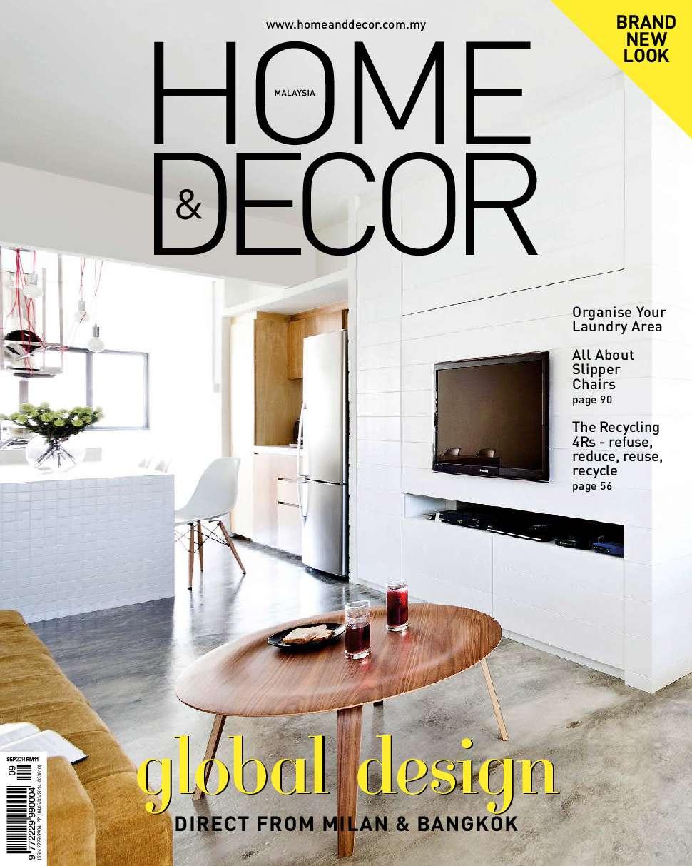 Home Decor Malaysia Magazine September 2014 Gramedia Digital