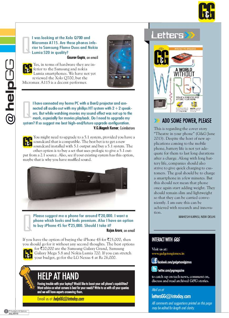 GADGETS & GIZMOS Magazine July 2013 - Gramedia Digital