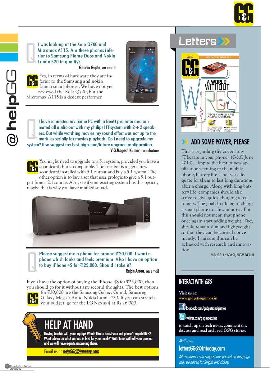 GADGETS & GIZMOS Magazine July 2013 - Gramedia Digital
