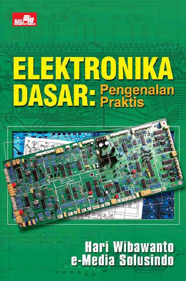 Jual buku elektronika dasar pengenalan praktis oleh hari