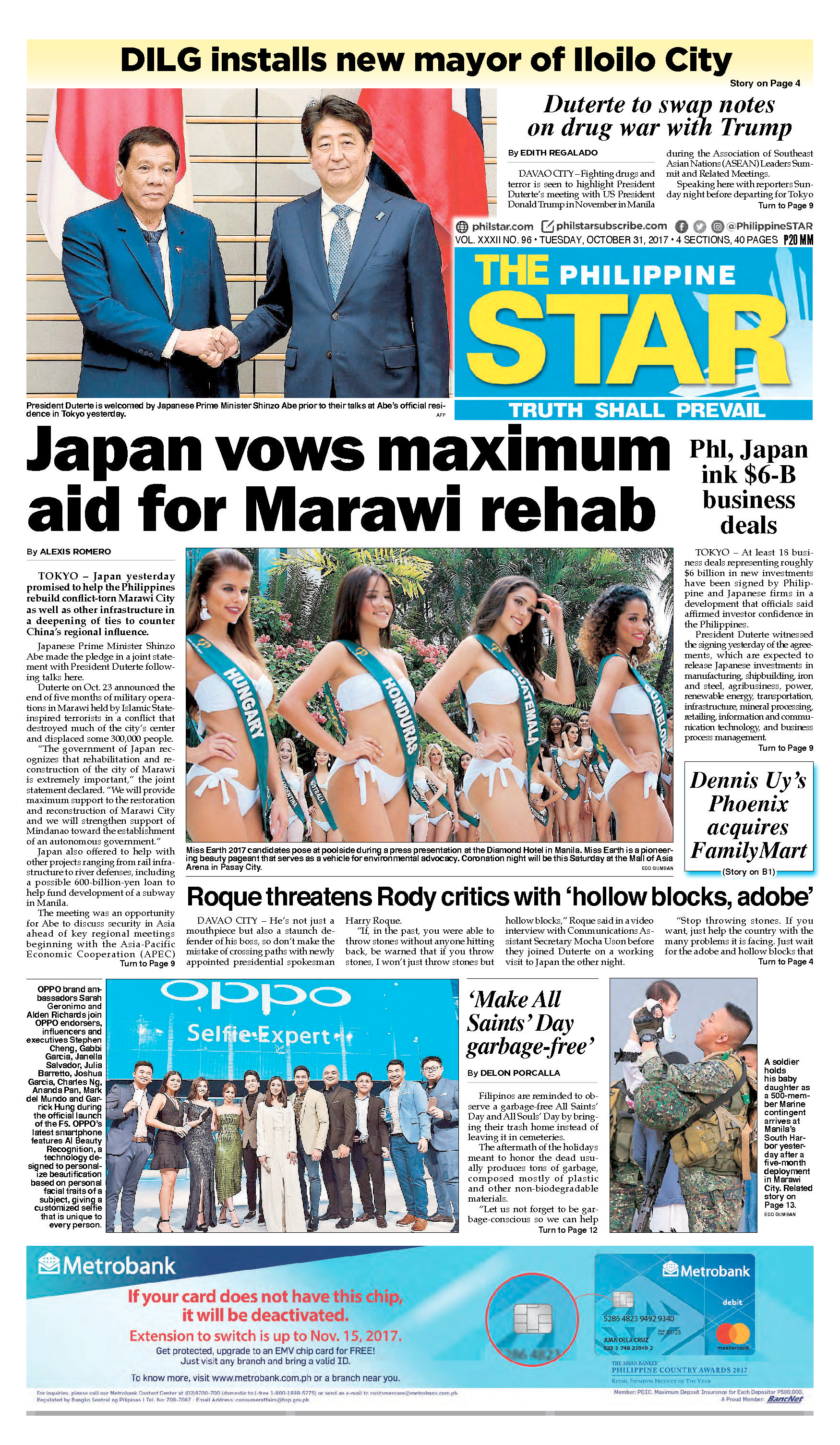 The Philippine Star Newspaper 31 October 2017 - Gramedia Digital