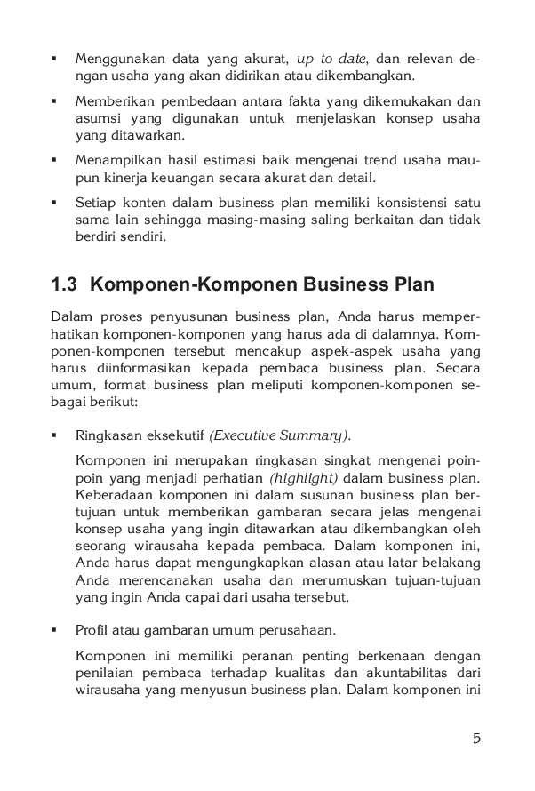 Jual Buku Membuat Business Plan Dengan Word 2007 Oleh Jubilee