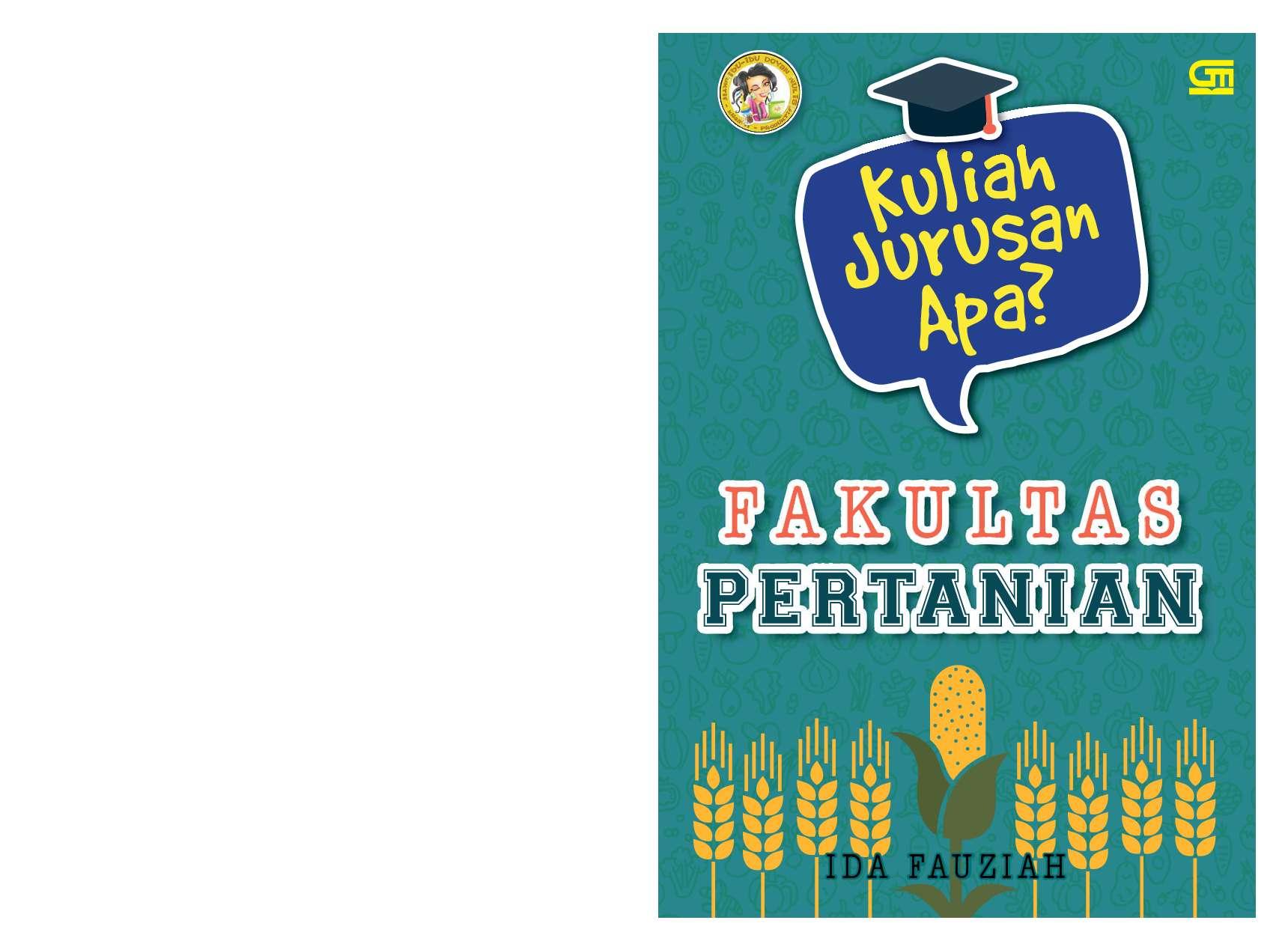 Jual Buku Kuliah Jurusan Apa Fakultan Pertanian Oleh Ida Fauziah