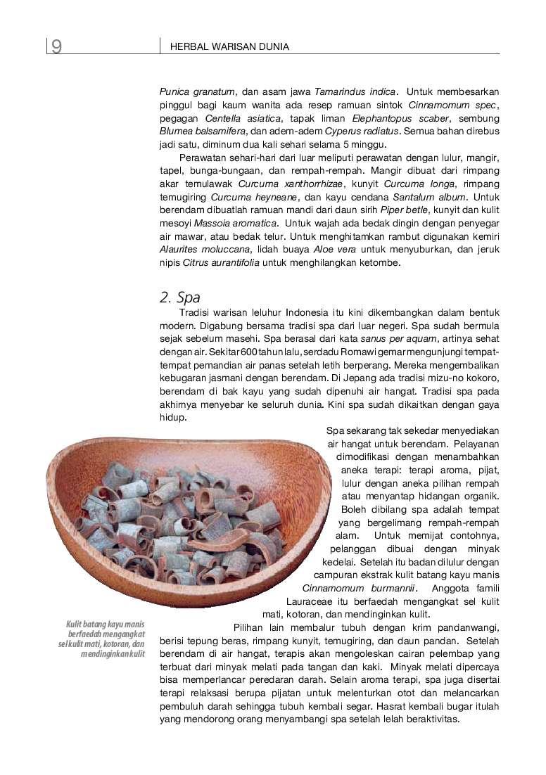 jual buku info kit vol 08 herbal indonesia berkhasiat
