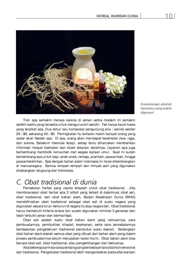 jual buku info kit vol 08 herbal indonesia berkhasiat