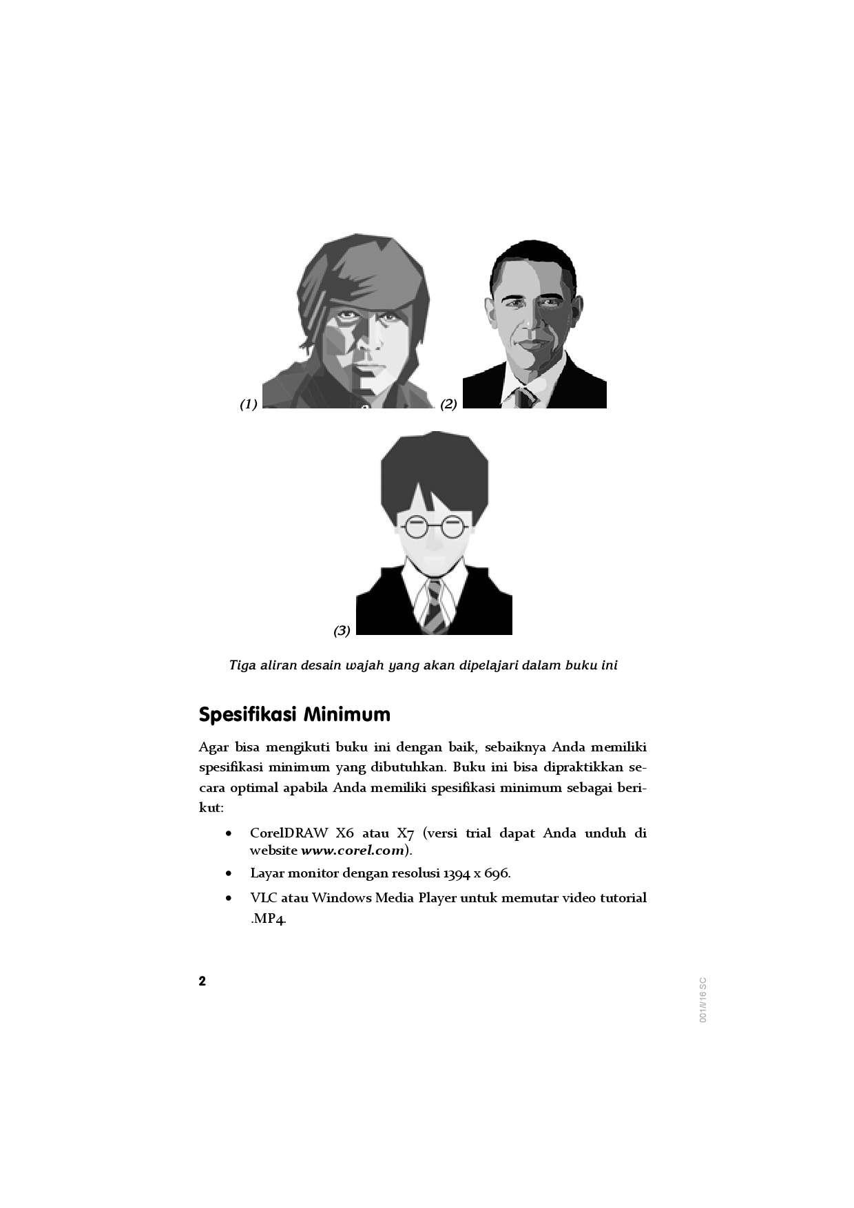 Jual Buku Desain Wajah Dengan CorelDraw Oleh Jubilee