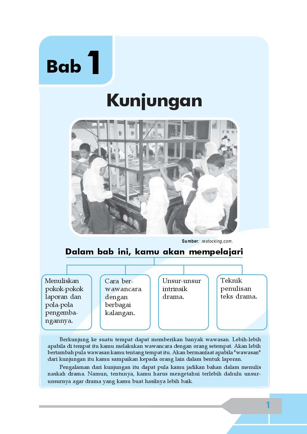 Buku bahasa indonesia kelas 8 kurikulum 2013