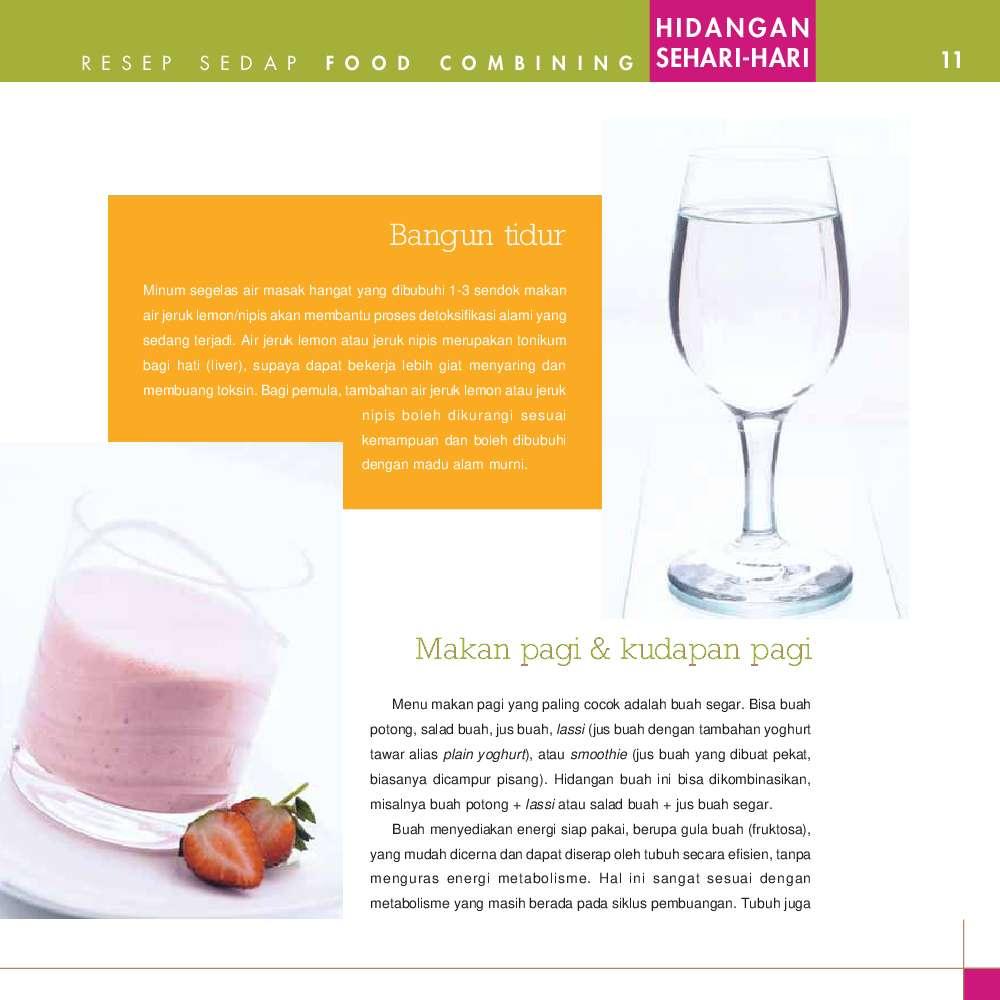 Jual Buku Food Combining - 105 Resep Sedap Masakan Sehari ...