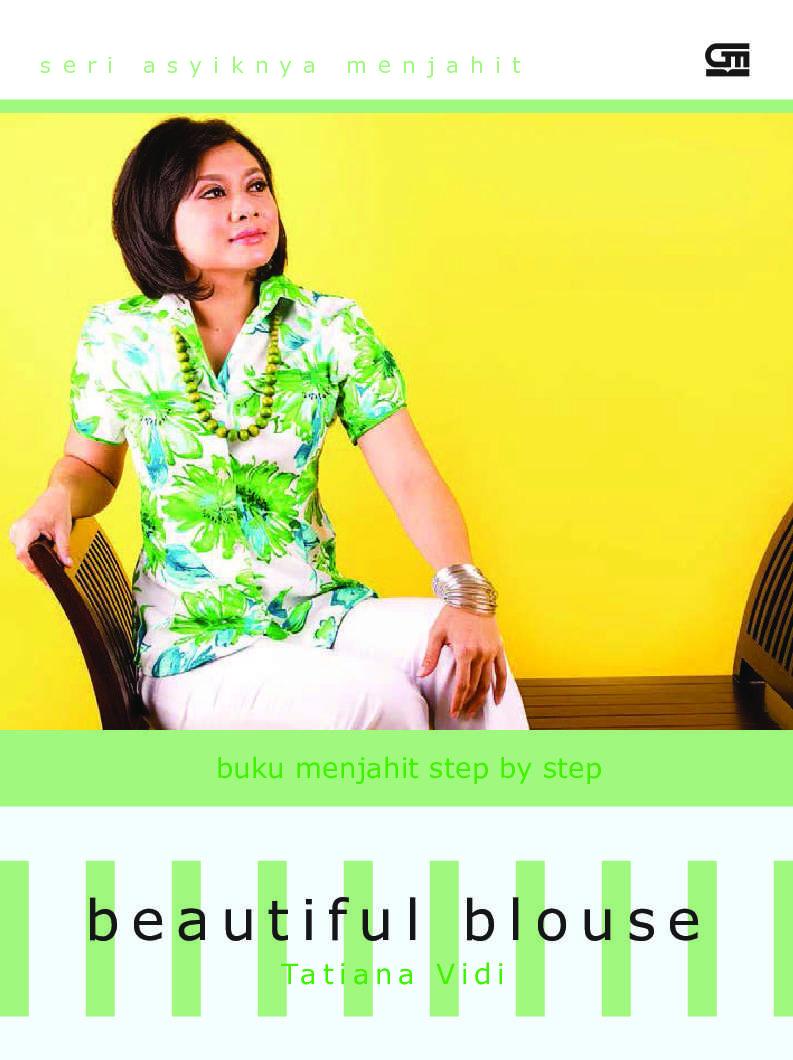 Buku Menjahit Step By Beautiful Blouse Book Tatiana Vidi Panduan