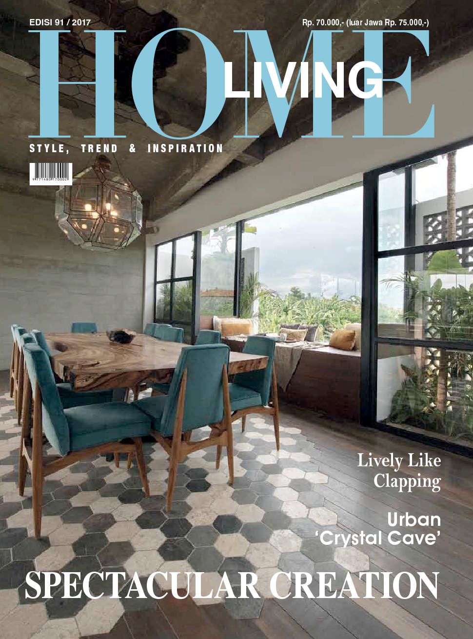 Home living magazine august 2017 gramedia digital for Home living magazines