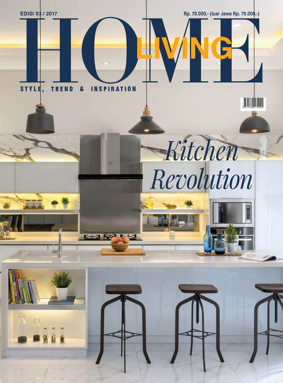 home living magazine october 2017 gramedia digital. Black Bedroom Furniture Sets. Home Design Ideas
